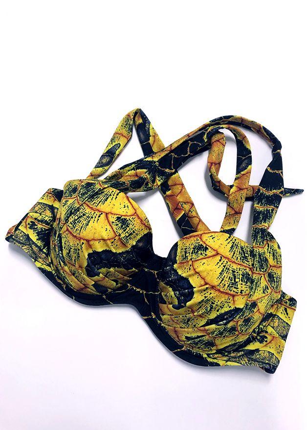 Hidden Dragon Aphrodite Padded Bikini Top