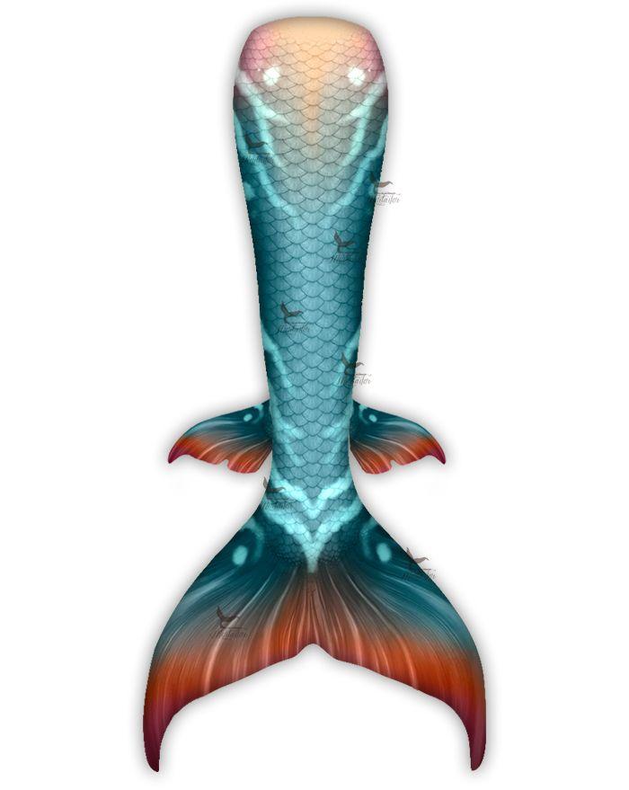 Patina Dream Whimsy Fantasea Tail