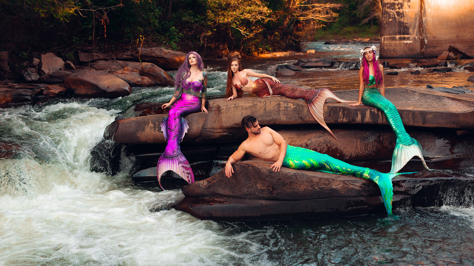 Silicone Spellbound Mermaid Tails