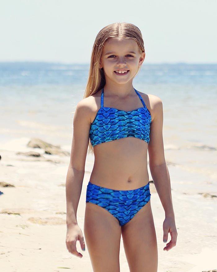Caribbean Blue Bikini Bottom