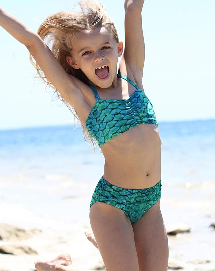 Lorelei Green Bikini Bottom