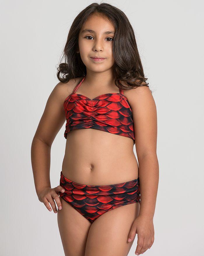 Kids Red Sea Bikini Bottom