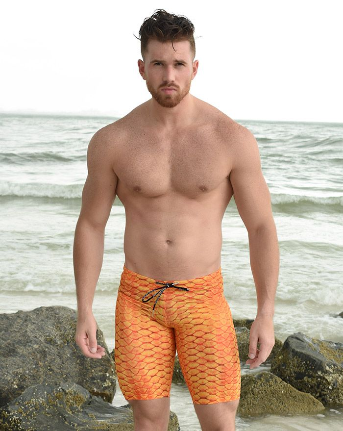 Tequila Sunrise Compression Short