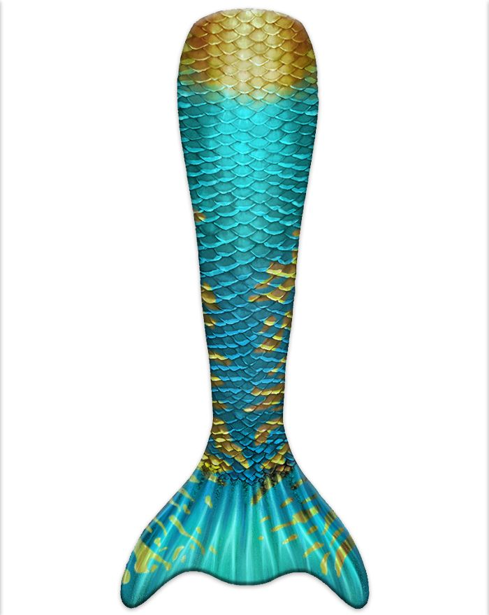 Caribbean Dream Eco Mermaid Tail Skin