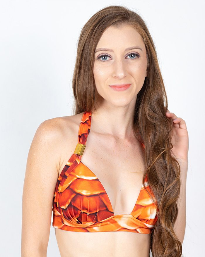 Splish Splash Padded Halter Top