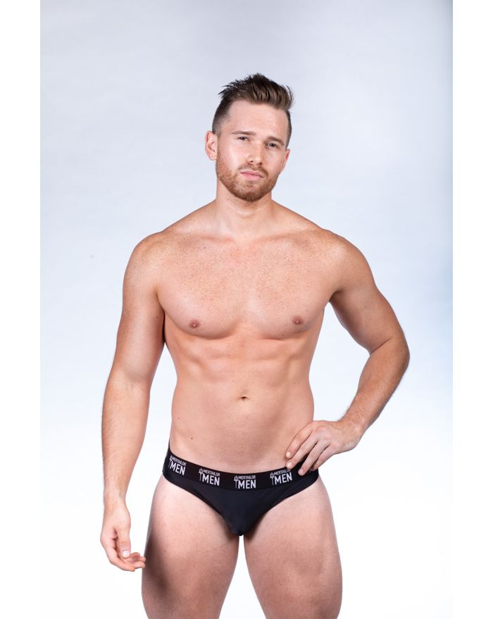 Black Low Rise Brief