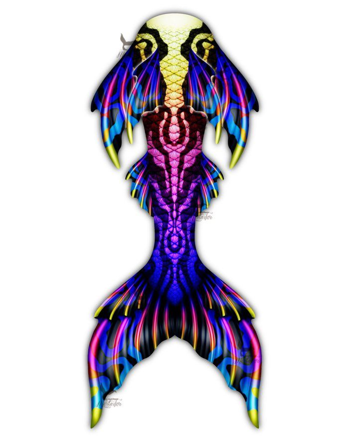 Cosmic Prism Whimsy Fantasea Tail