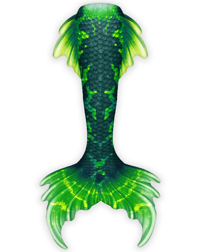 Swamp Thang Whimsy Fantasea Tail
