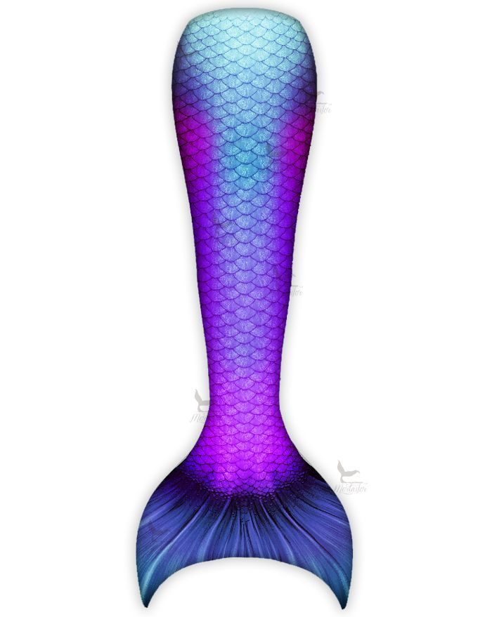 Kids Royal Beta Mermaid Tail Combo
