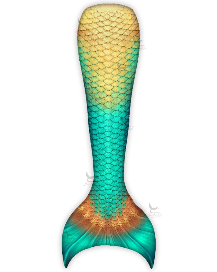 Kids Sea Gem Mermaid Tail Combo