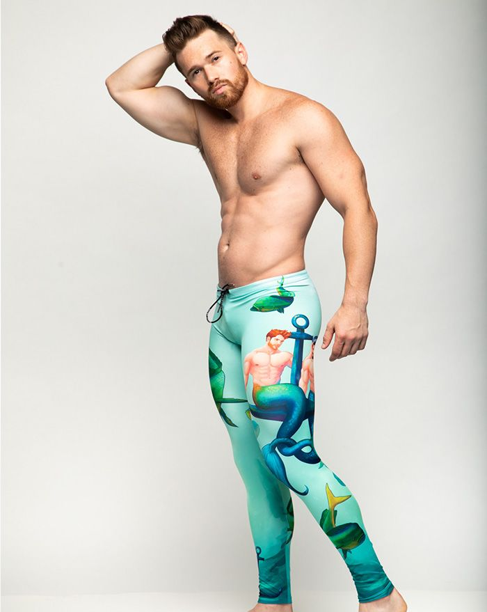 Two Merman One Anchor Legging