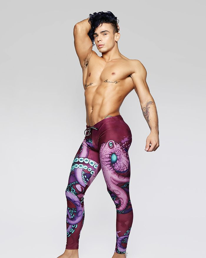 Mystic Seas Octopus Legging