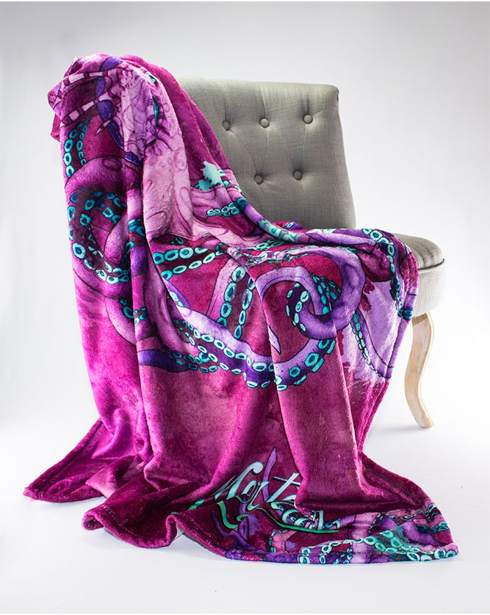 Mystic Seas Octopus Throw