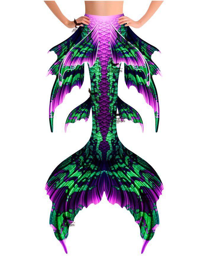 "Borealis Elegance Whimsy Fantasea Tail ""Three"""
