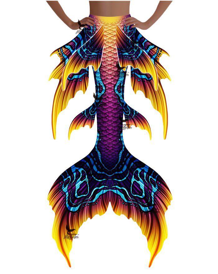 """Carnival Oceana Whimsy Fantasea Tail """"Three"""""""
