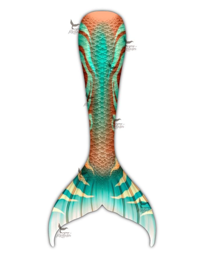 Copper Mint Full Fantasea Tail Skin