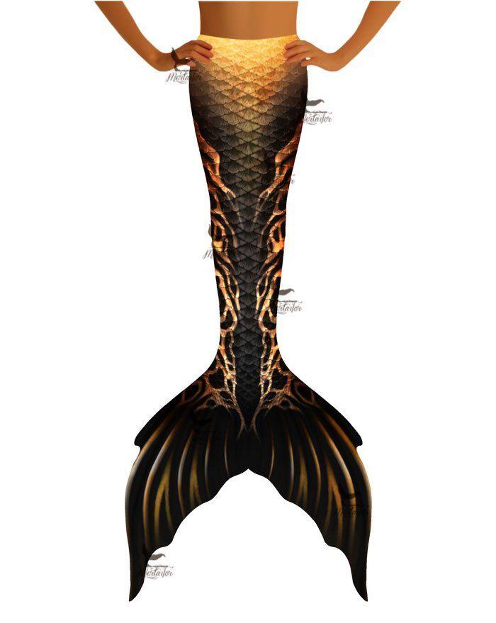 "Anubis Whimsy Fantasea Tail ""Three"""