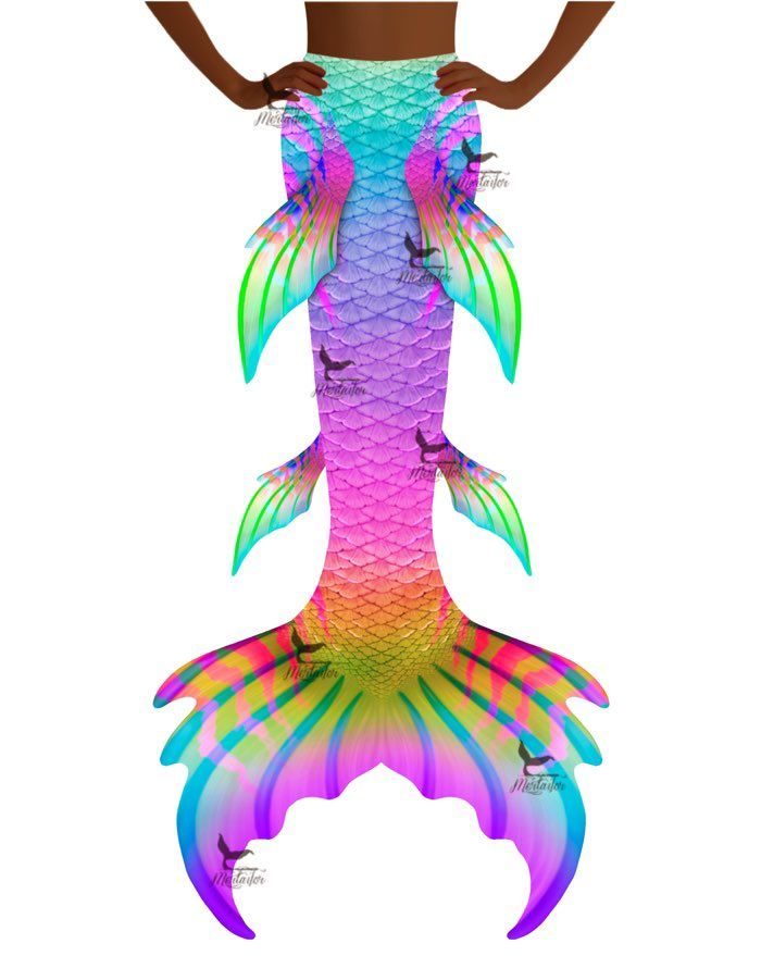 "Rainbow Dream Whimsy Fantasea Tail ""Too"""