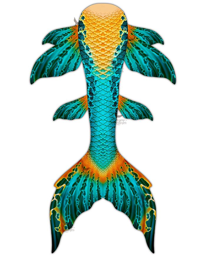 Gem of the Sea Whimsy Mermaid Tail