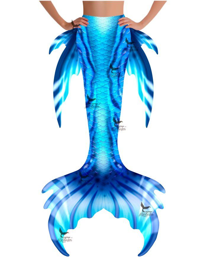 "Poseidon Spirit Whimsy Fantasea Tail ""Too"""