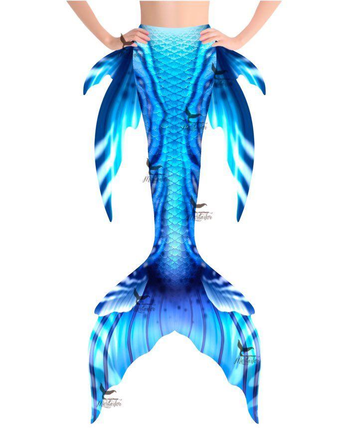 """Poseidon Spirit Whimsy Fantasea Tail """"Three"""""""
