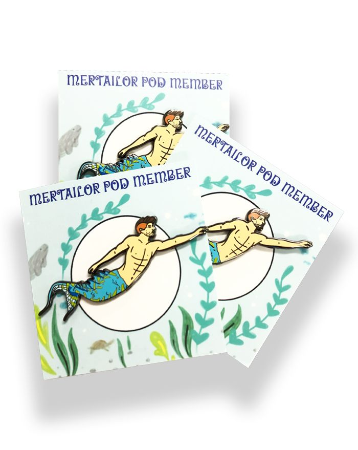 Official Mertailor Pod Pin
