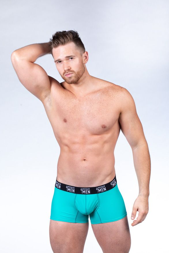 Aqua Tides Boxer Brief