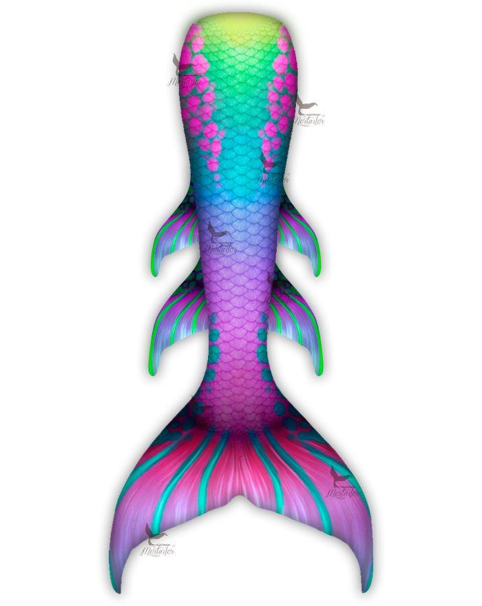 Rainbow Shock Whimsy Fantasea Tail