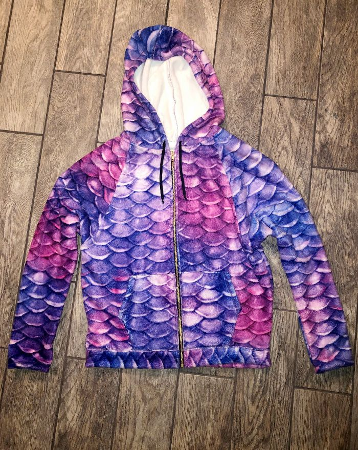 Condy Anemone Zipped Hoodie