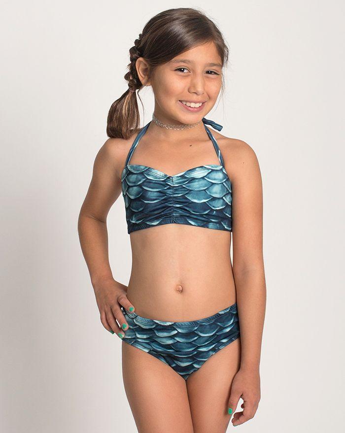 Kids Black Pearl Bikini Bottom