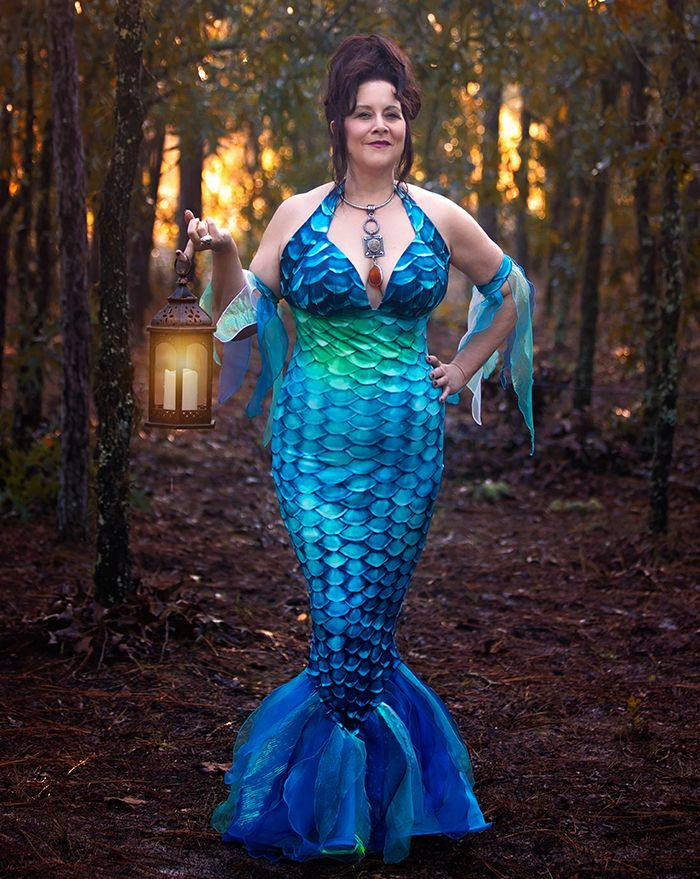 Caribbean Dream Mermaid Witch Costume