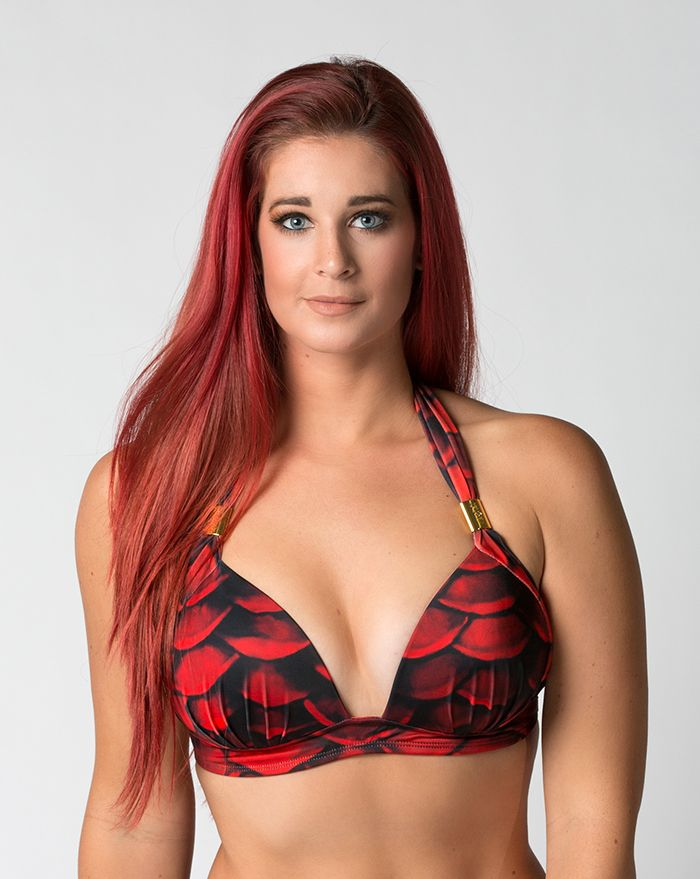 Red Sea Padded Halter Top