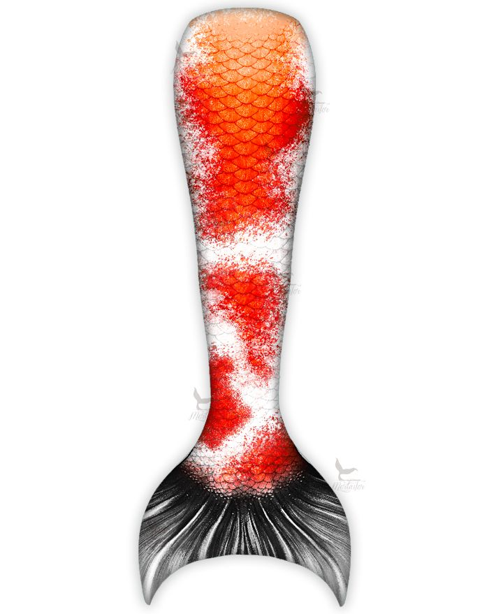 Kids Sanke Butterfly Koi Mermaid Tail Combo