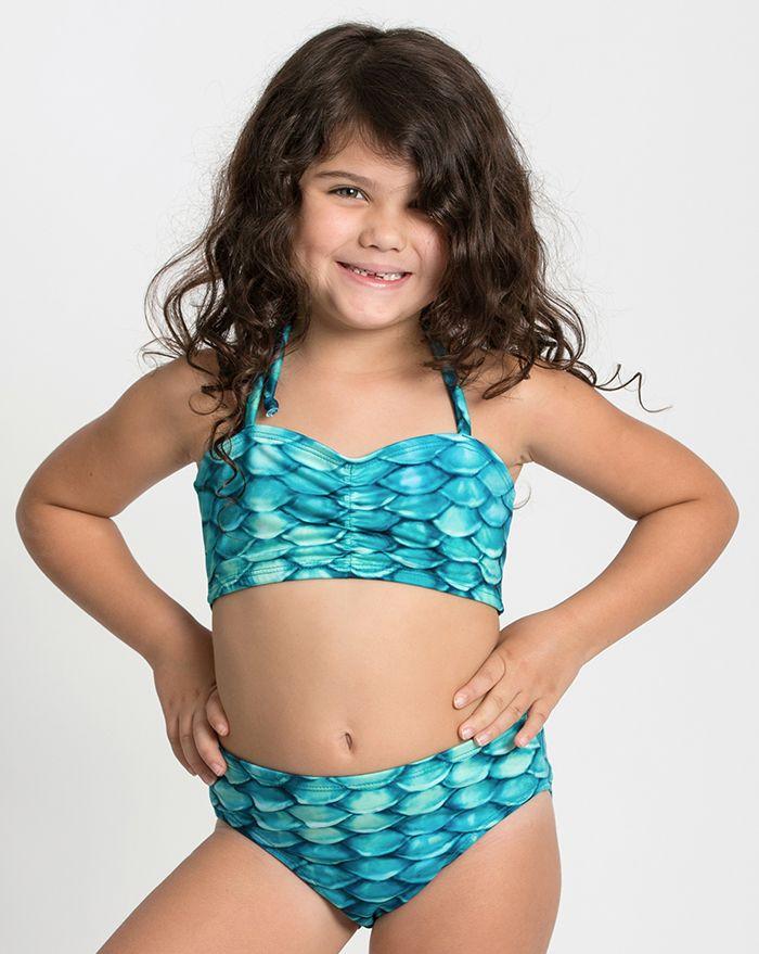Kids Aqua Adajio Bikini Bottom