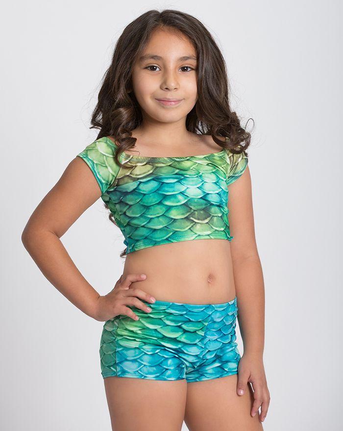 Kids Caribbean Dream Swim Short