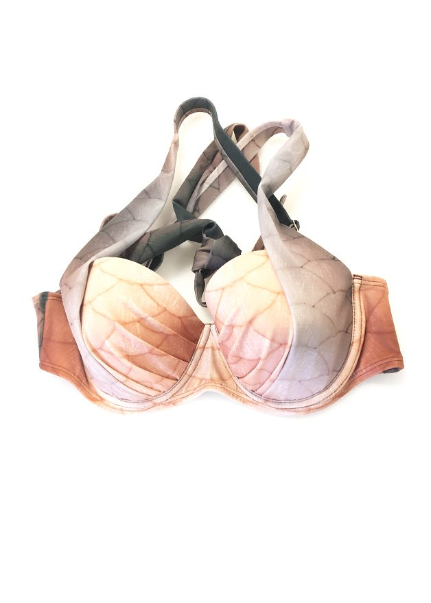 Marron Betta Aphrodite Padded Bikini Top