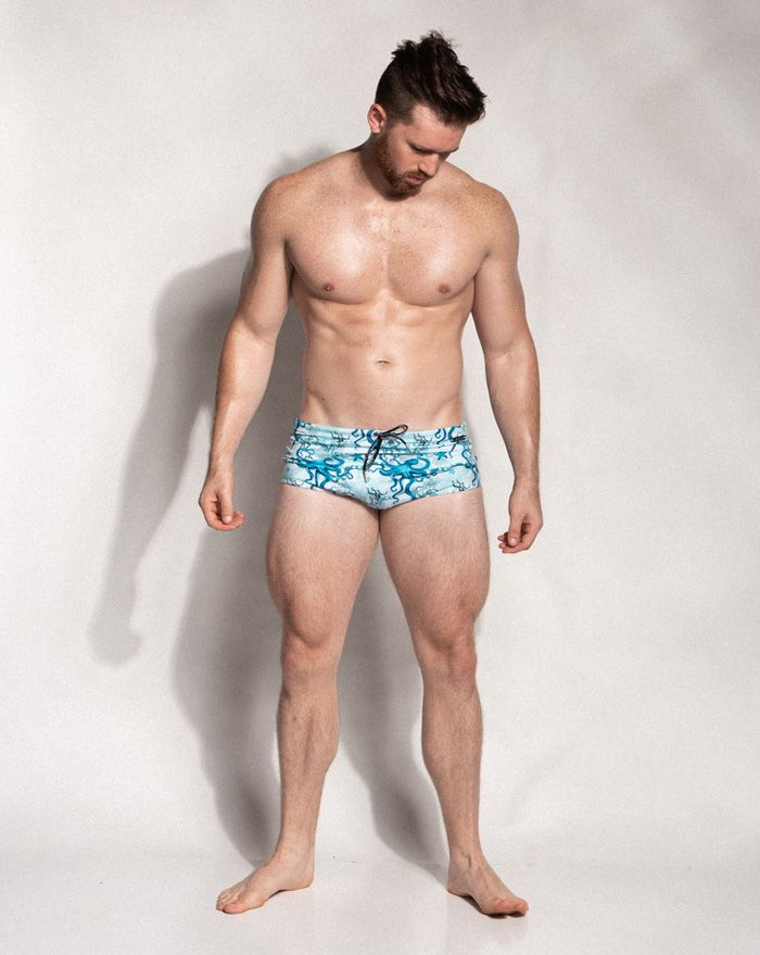 Octopus Fields Square Cut Brief