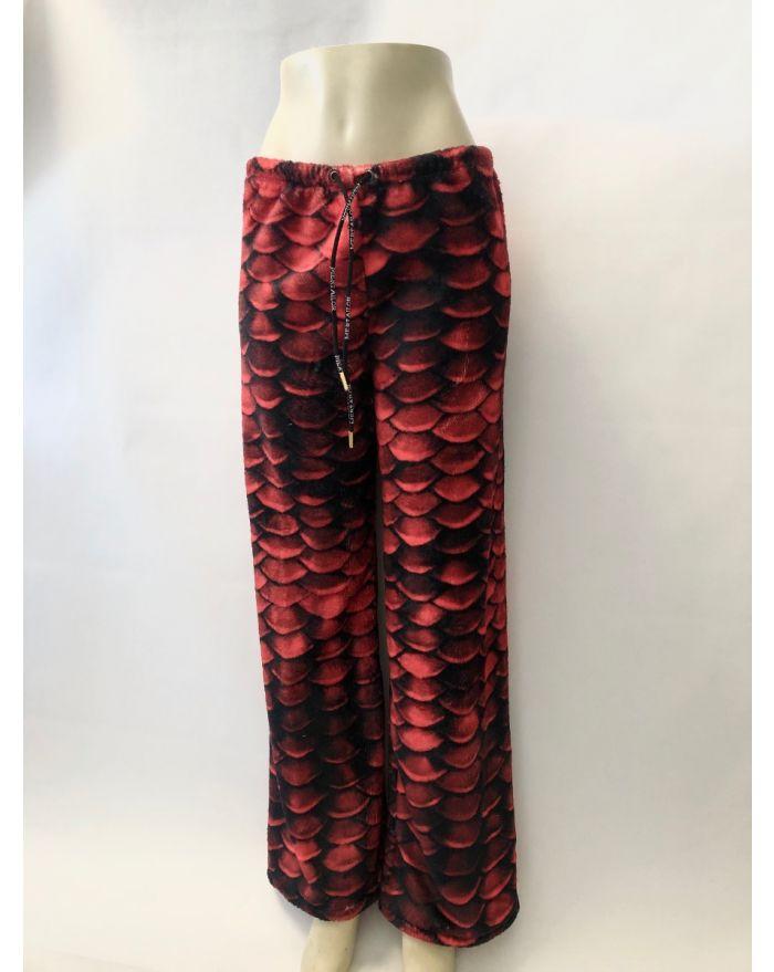 Red Sea Plush Pajama Pant