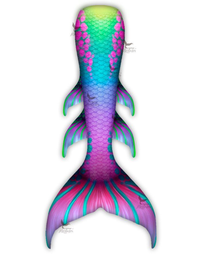 Rainbow Shock Whimsy Fantasea Tail