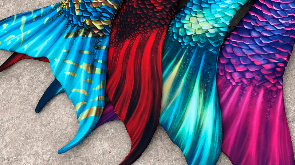 how to make realistic swimmable mermaid tails
